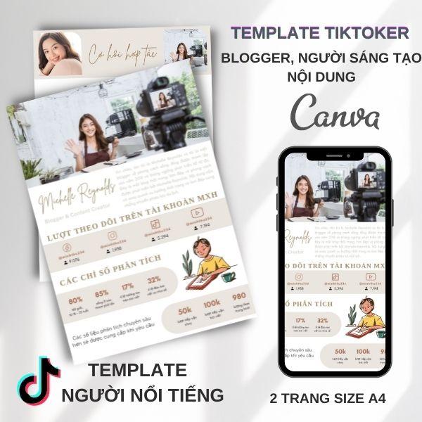 Mẫu TikToker - Singer